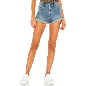 One Teaspoon Vintage Rolled Cuff Distressed Shorts